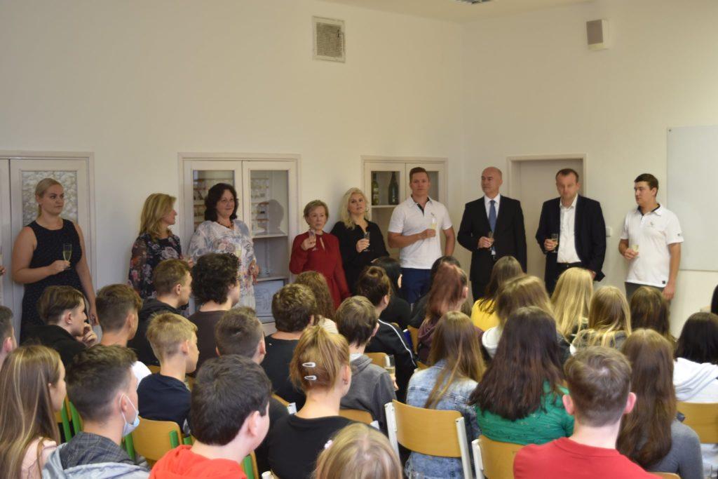 vítání prváku na Střední škole Baltaci